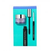Clinique High Impact tonalità 01 Black confezione regalo mascara 7 ml + balm struccante Take The Day Off 15 ml + matita occhi Quickline 0,14 g Intense Ebony