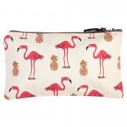 Fenella Smith Flamingo and Pineapple Pencil Case