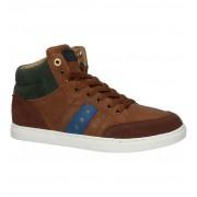 Pantofola d'Oro Monza Gagazzi Cognac Hoge Sneakers