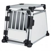 Jaula De Aluminio Trixie Para Transporte 55x62x78 Cm