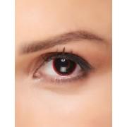 Vegaoo.se Kontaktlinser fantasy svarta pupiller med röd kant