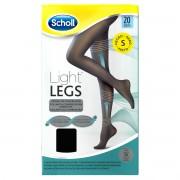 Reckitt Benckiser Scholl Light Legs Collant velate 20 denari compressione media colore nero taglia S
