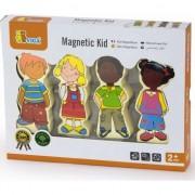 Viga set figurine magnetice din lemn pentru pozarea