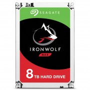 Seagate IronWolf ST8000VN0022 - Disco rígido - 8 TB - SATA 6Gb/s - 7200 rpm - buffer: 256 MB