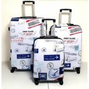 Max A29Am kufr skořepinový cestovní ABS set 3ks Air Mail