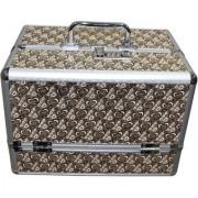 Pride Jasmine to store cosmetics Vanity Box (Brown)