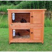 TRIXIE Cușcă pentru iepuri 'Natura' 2 etaje 116×111×65 cm