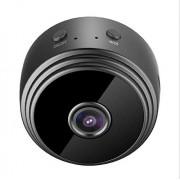 DIMAOLV Cámara Web WiFi HD Cámara Tienda en casa Oficina Mini cámara 1080p WLAN Radio Visión Nocturna Cámara de vigilancia con detección de Movimiento Inteligente