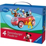 PUZZLE MICKEY SI PRIETENII 2x25 PIESE2x36 PIESE Ravensburger