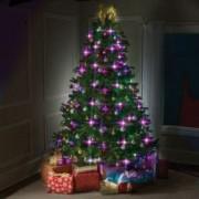 Instalatie Led Pentru Bradul De Craciun 48 Globuri Luminoase 16 Culori 5 Programe Tree Dazzler