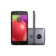 Smartphone Motorola Moto E4 Dual Chip Android 7.1.1 Nougat Tela 5 Quad-Core 1.3GHz 16GB 4G Câmera 8MP - Titanium