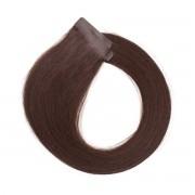 Rapunzel® Extensions Naturali Quick & Easy Original Liscio 2.4 Chad Wood Natural Brown 50 cm