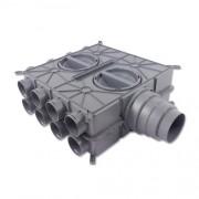 2577596 - WOLF rozdelovač vzduchu 16 vývodový 75/63mm, 2577596