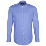 Seidensticker Overhemd Twill Easy Iron Intens Blauw / male