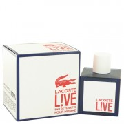 Lacoste Live Eau De Toilette Spray 3.4 oz / 100.55 mL Men's Fragrance 514688