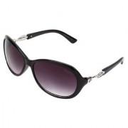 Meia Black Oval Sunglasses For Girls Womens