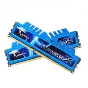 Memorie G.Skill RipJawsX 8GB (2x4GB) DDR3 PC3-12800 CL9 1.35V 1600MHz Intel Z97 Ready Dual Channel Kit, F3-12800CL9D-8GBXM