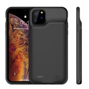 For Apple iPhone 11 Pro 5.8 inch 5200mAh Backup Battery Power Bank Charging Case - Black