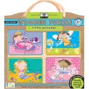 Innovative Kids Green Start Wooden Puzzles: Little Princess (2Yrs+) Puzzle