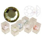 Pietricele cristal, 50 buc., culoare jonquil, ss5, art. nr.: 761528
