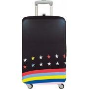 Pokrowiec na walizkę LOQI Travel Stars and Stripes