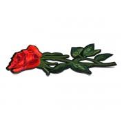 Aplicații termoadezive - trandafir mare (set 10 buc)