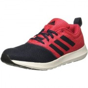 Adidas Women's Black Red Lace-up Running Shoes