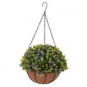 Floare artificială Koopman Chatty, în ghiveci agățat, 20 cm