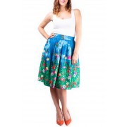 Simpo raznobojna suknja Flower Land