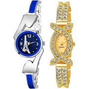 TRUE CHOICE NEW SUPER HOT AND BRANDE LOOK COMBO WATCH FOR WOMEN AND GIRL WITH 6 MONTH WARRNTY
