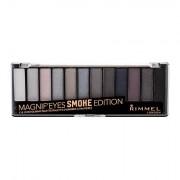 Rimmel London Magnif´Eyes Contouring Palette palette di ombretti 14,16 g tonalità 003 Smoke Edition donna