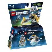 LEGO Dimensions Ninjago Zane Fun Pack 71217