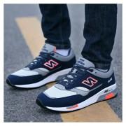 Zapatos Deportivos Con Malla Respirable Tenis Correr Para Hombre -Azul Marino
