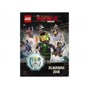 LAB-703 Almanah 2018 LEGO Ninjago Movie cu minifigurina
