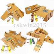Alcoa Prime Skate Park Ramp Parts for Tech Deck Fingerboard Finger Board Ultimate Parks 92C