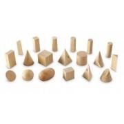 Forme geometrice din lemn set 19