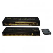 Matriz HDMI 4X2, c/audio, 1080P, HDCP X-Case HDMIMA4X2AU