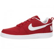 Nike Men's Court Borough Low Red- White Casual Shoes (10 UK/India)