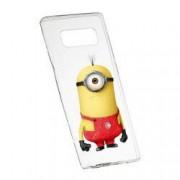 Husa de protectie Cartoon Minion Samsung Galaxy S10 Plus rez. la uzura anti-alunecare Silicon 206