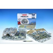 Puzzle Praha City 4D 60x40x7,6cm 1200dílků v krabici