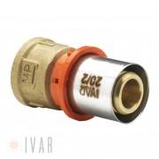 Racord presare sertizare IVAR 16 x 3 4 de 2mm filet interior
