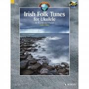 Schott Music Irish Folk Tunes for Ukulele Colin Tribe, inkl. CD