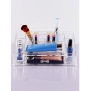 Rosegal Organisateur Rangement de Maquillage en Acrylique