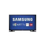 Smart TV LED 40` Samsung Full HD HDMI USB Wi-Fi Integrado Conversor Digital UN40J5200