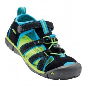 KEEN SEACAMP II CNX JR Dětské sandály KEN1201103308 black/blue danube 4(37)