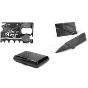 Right Traders Folding Pocket Safety Knife card holder Multi Utility Knifes