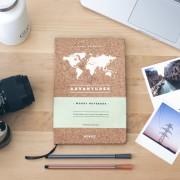 Reisdagboek Woody Notitieboek Adventures | Miss Wood
