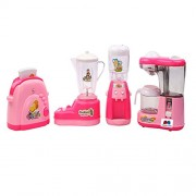 GRAPPLE DEALS Dream Household 4 Pcs House Appliances Pretend Play Newest Product For Your Little Princess.