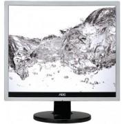 "Monitor TN LED AOC 17"" e719sda, VGA, DVI-D, 5ms (Argintiu/Negru)"