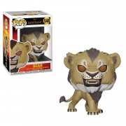 Funko POP Disney: El Rey Leon Scar Flocked